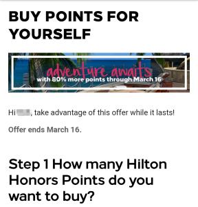 hilton-point