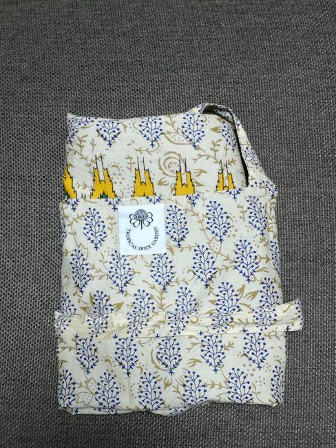 ペナントロピカルスパイスガーデンのクッキングクラスのプレゼントされるエプロン