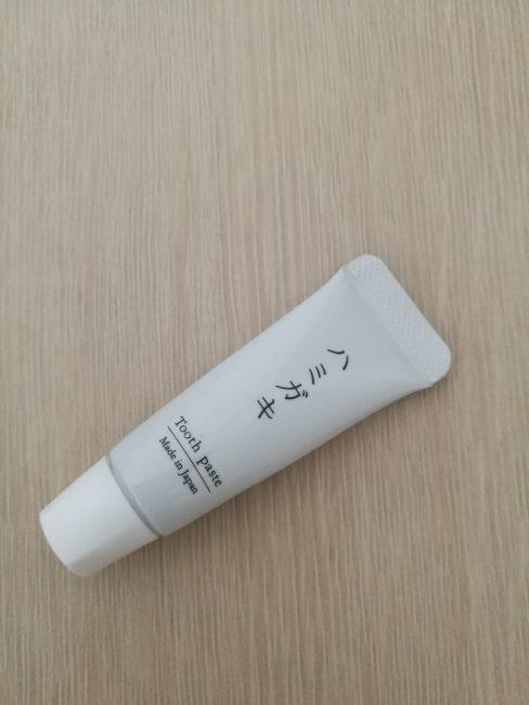 ベストウエスタン大坂塚本のバスルームのアメニティ歯磨き粉