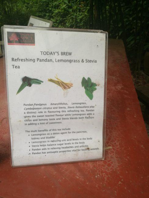 ペナン島トロピカルスパイスガーデンの今日のスペシャルティ