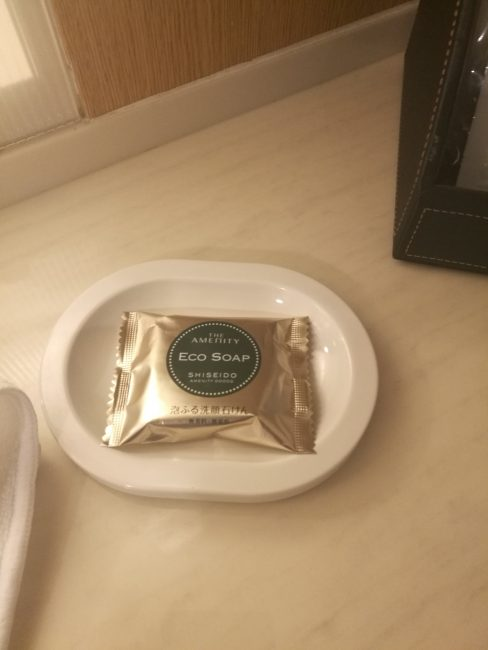 ホテル日航関西空港ビジネスクラスルームのアメニティ石鹸