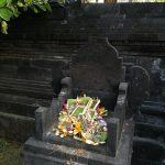 バリ島での毎日の神様へのお供え