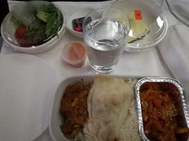 MH850 737-800 機内食