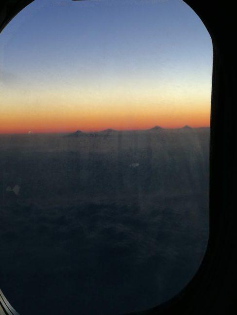 MH850 737-800 機内からの風景