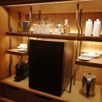 ウォルドーフアストリアバンコク室内のミニバー
