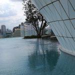 ウォルドーフアストリアバンコクのプール