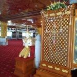 インスタ映タイの寺ワットパクナムまでの行き方壁の装飾品
