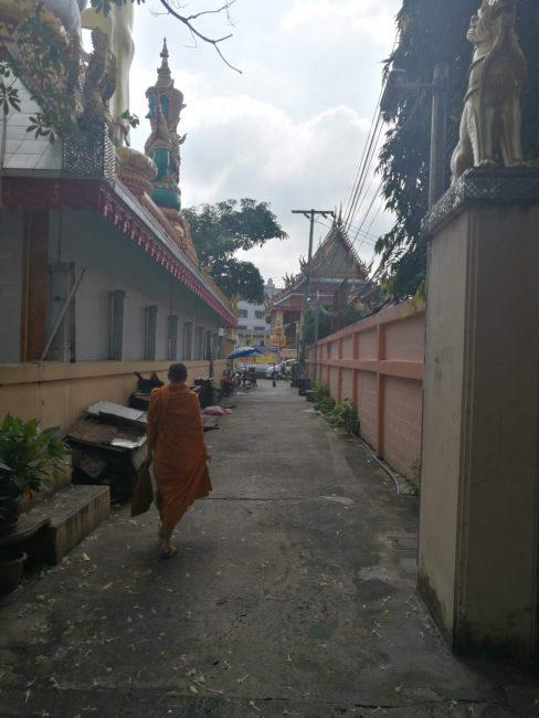 タイの寺院ワットクンチャンまでの道のり