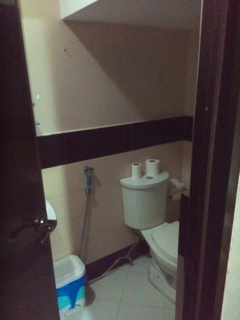 フィリピン留学Quooll寮バスルーム1階