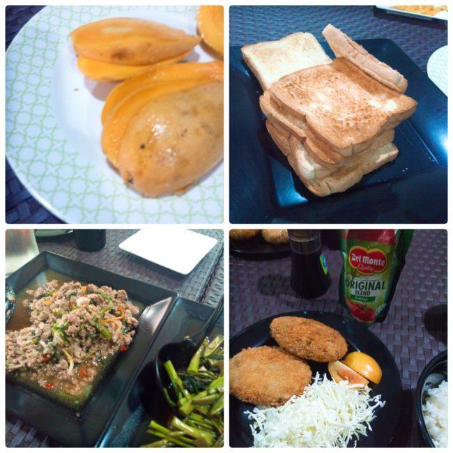 マニラ留学クオール寮の食事
