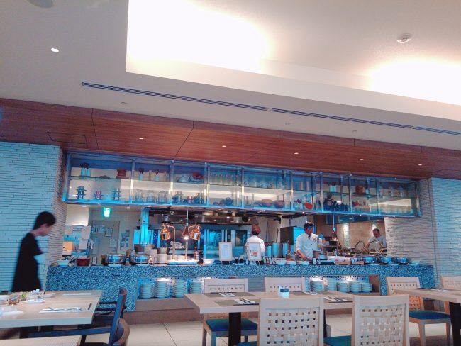 ヒルトン沖縄北谷朝食会場レストラン