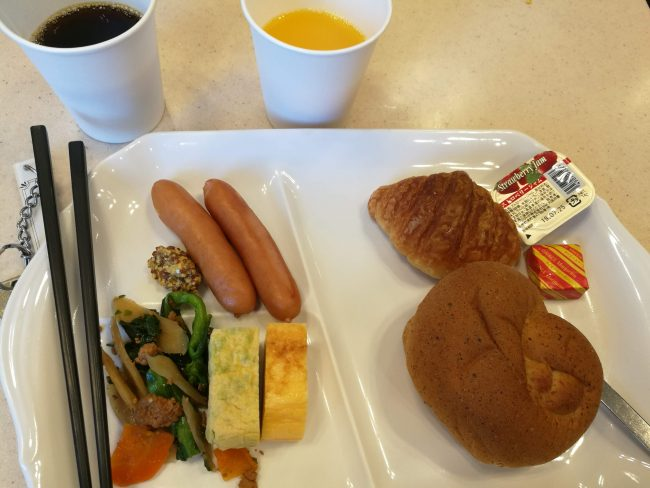 東横インおもろまちホテル朝食