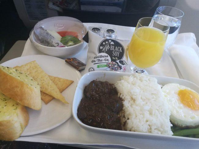 クアラルンプールからプーケットへマレーシア航空ビジネスクラス