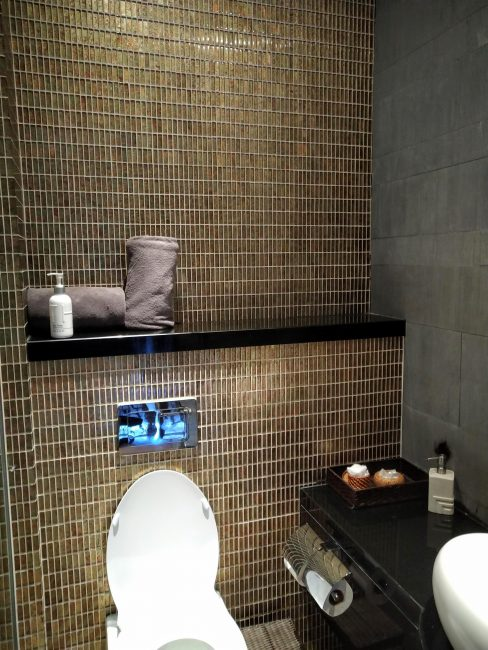 ホーチミンspaスパTHANN(タン)室内バスルームのアメニティー