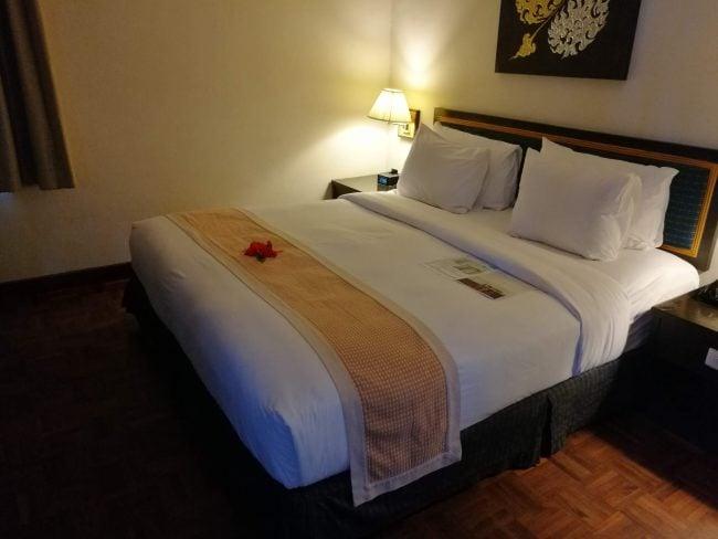 ホリディインリゾートピピアイランド ベッド